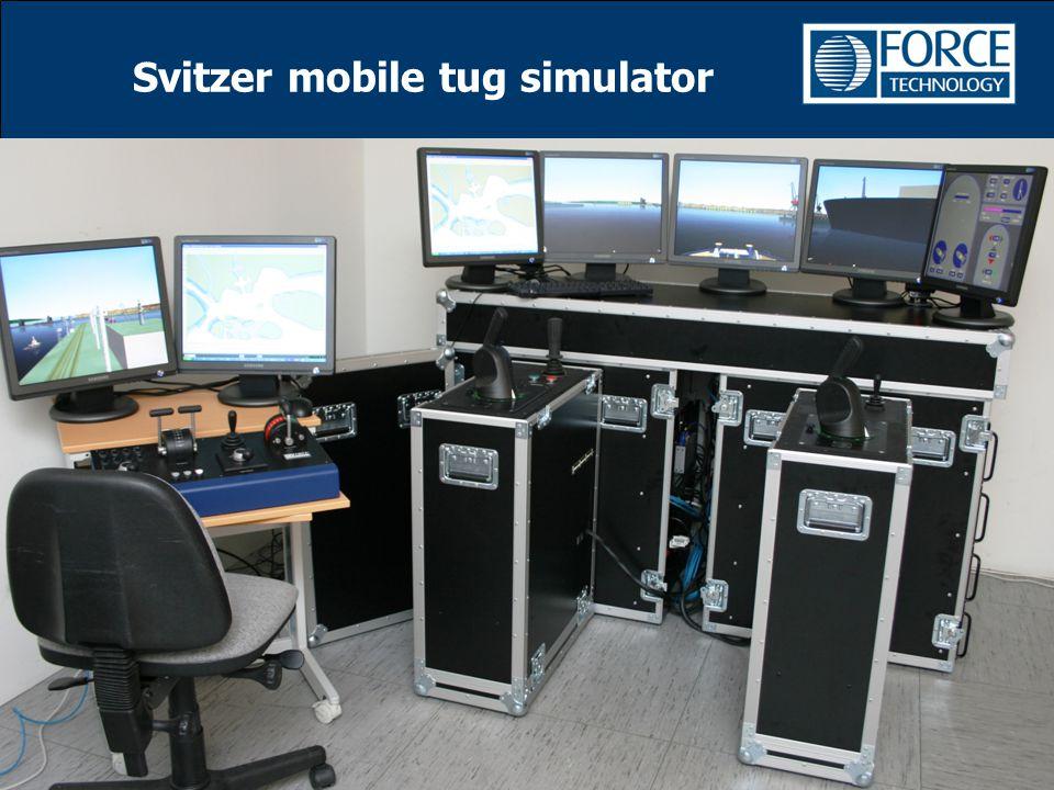Svitzer mobile tug simulator
