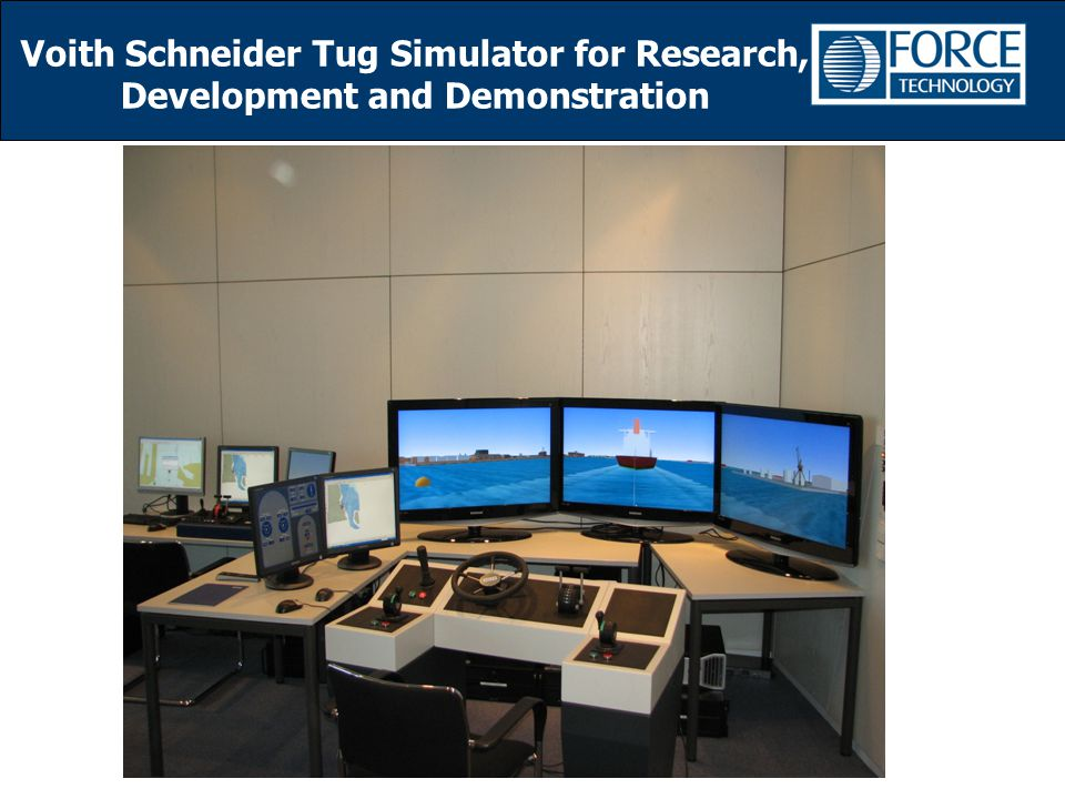 Voith Schneider Tug Simulator for Research, Development and Demonstration