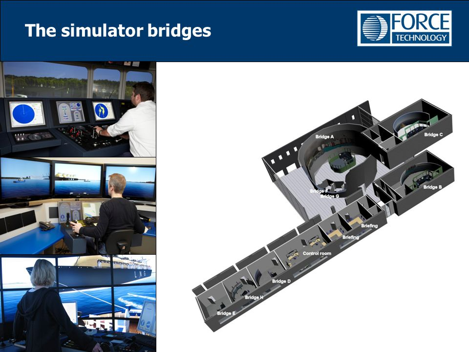 The simulator bridges