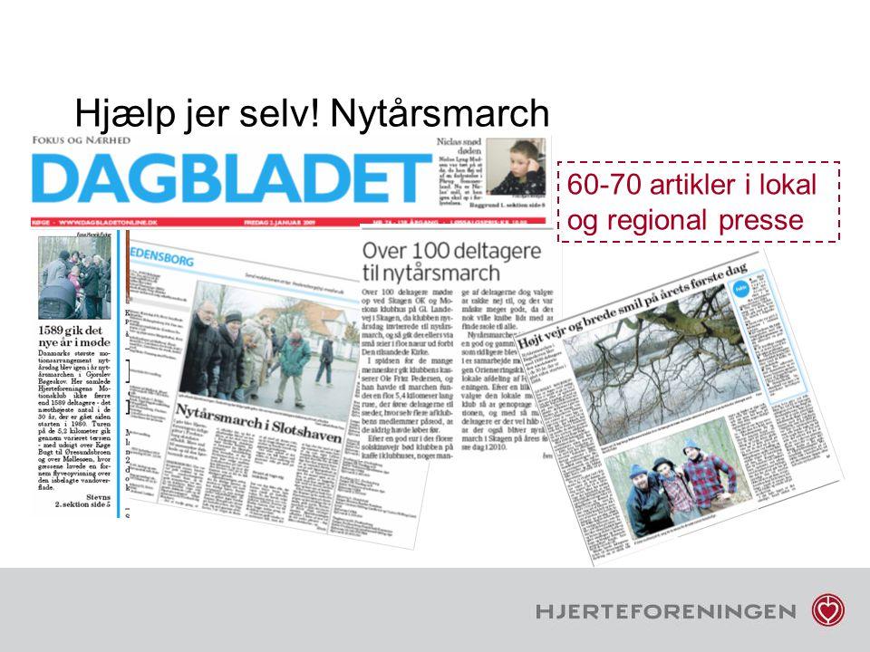 Hjælp jer selv! Nytårsmarch 60-70 artikler i lokal og regional presse