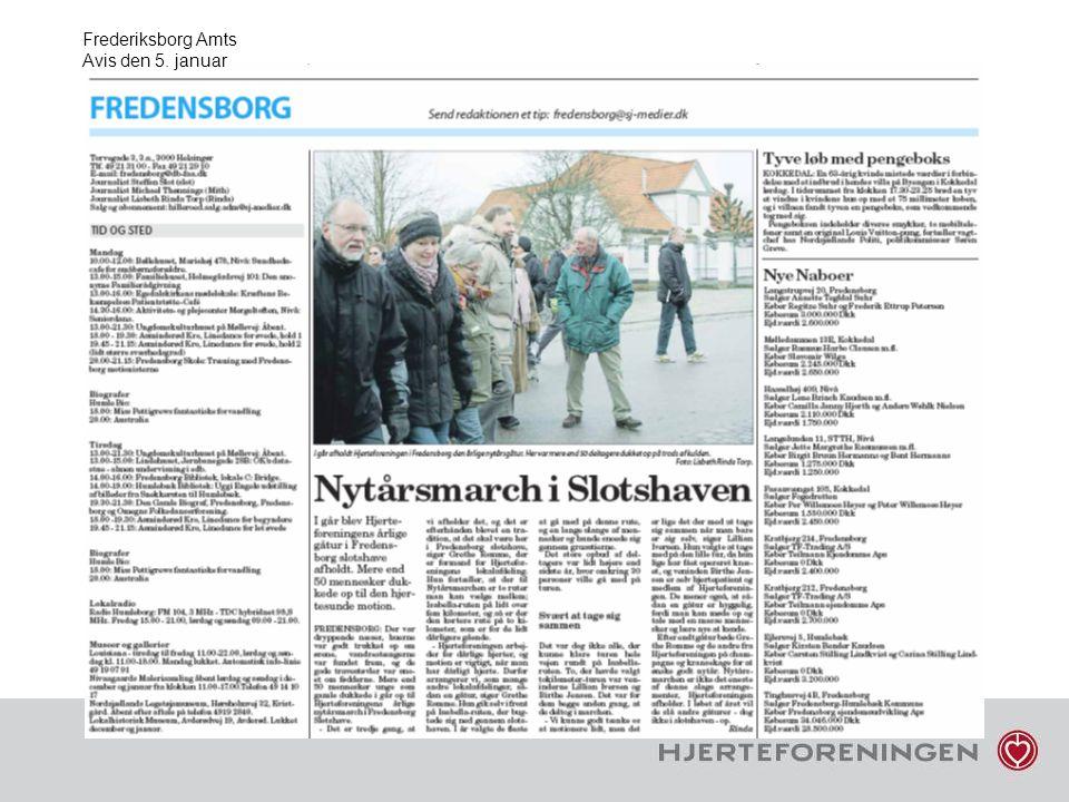 Frederiksborg Amts Avis den 5. januar