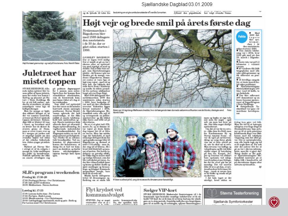 Sjællandske Dagblad 03.01.2009