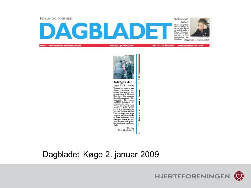 Dagbladet Køge 2. januar 2009