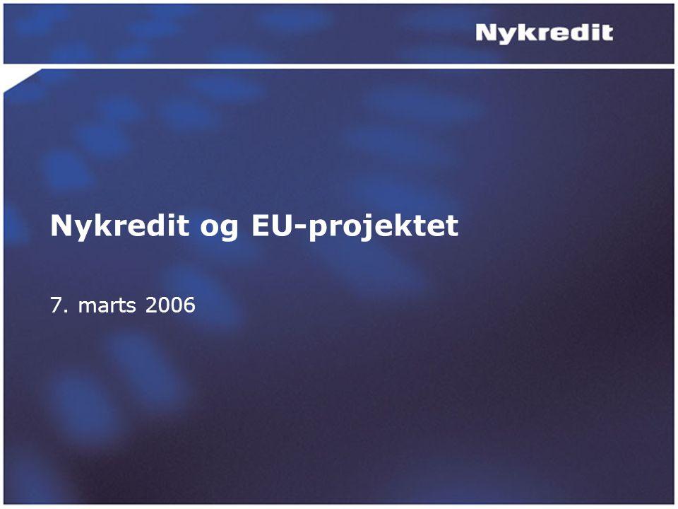 Nykredit og EU-projektet 7. marts 2006