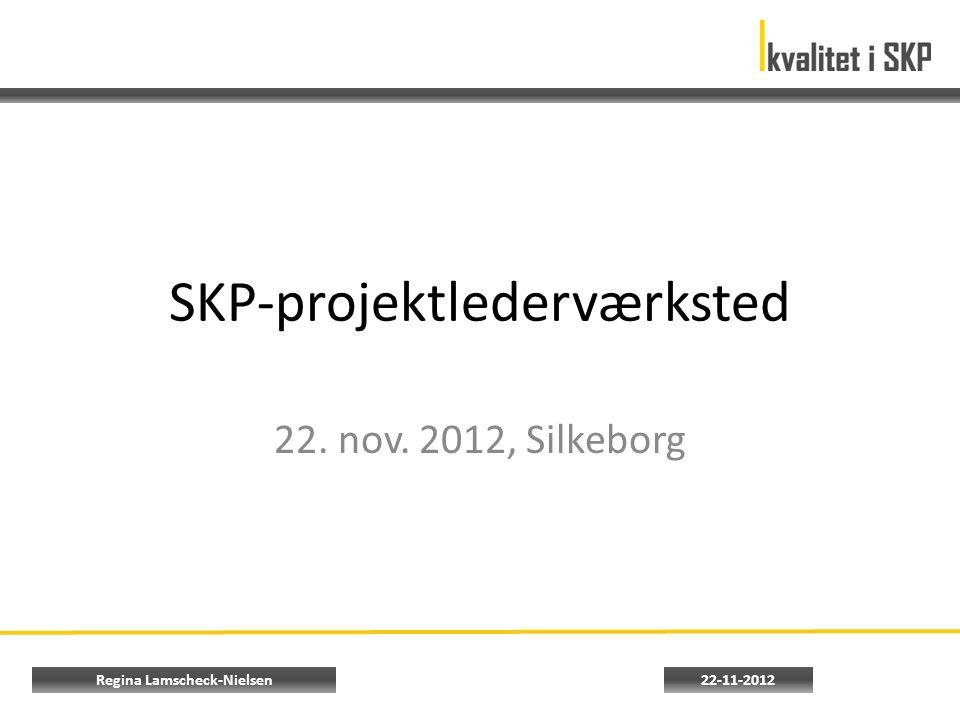 SKP-projektlederværksted 22. nov. 2012, Silkeborg 22-11-2012Regina Lamscheck-Nielsen