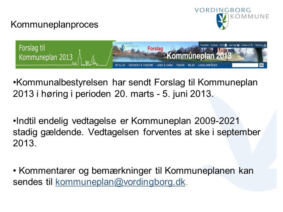 Punktopstilling Marker den ønskede tekst og vælg Forøg indrykning: For at fjerne punktmarkering vælg Formindsk indrykning: Kommuneplanproces Kommunalbestyrelsen har sendt Forslag til Kommuneplan 2013 i høring i perioden 20.
