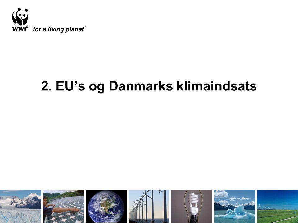 2. EU's og Danmarks klimaindsats