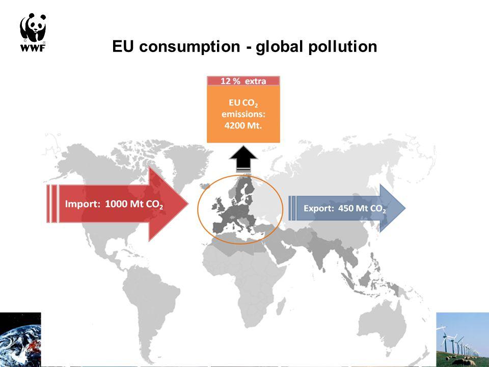 EU consumption - global pollution