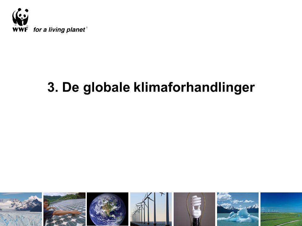 3. De globale klimaforhandlinger