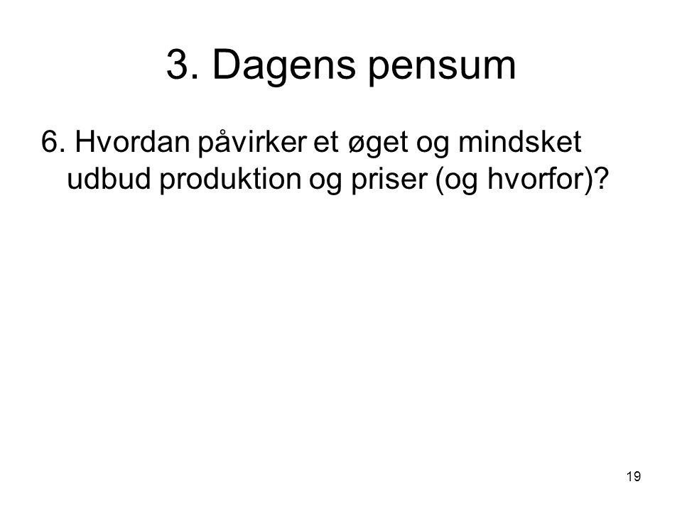 19 3. Dagens pensum 6.
