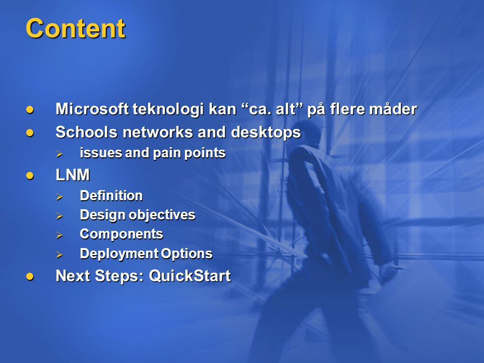 Content Microsoft teknologi kan ca. alt på flere måder Microsoft teknologi kan ca.