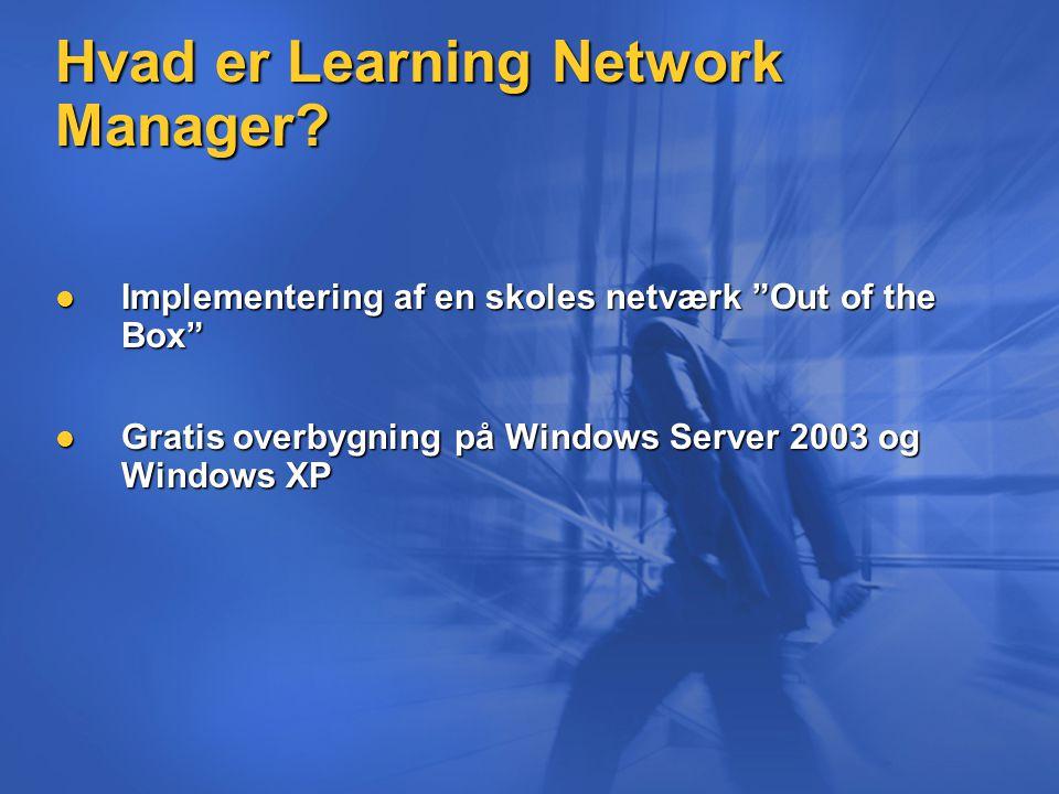 Hvad er Learning Network Manager.