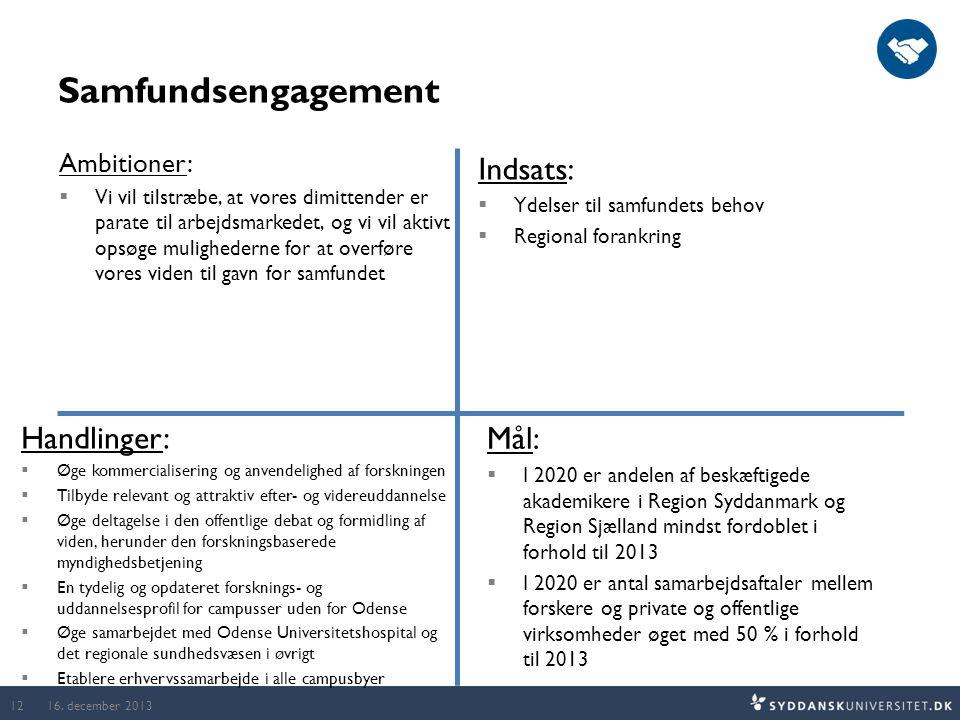 Samfundsengagement 16.