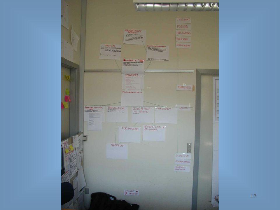 Organisering og projektledelse17