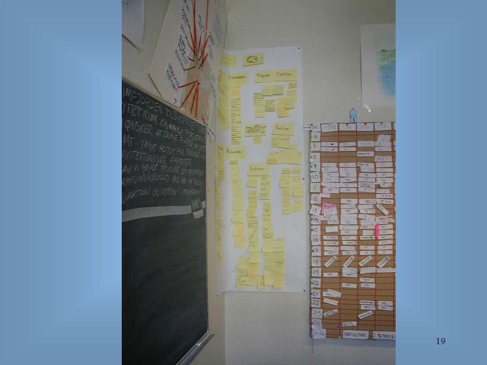 Organisering og projektledelse19