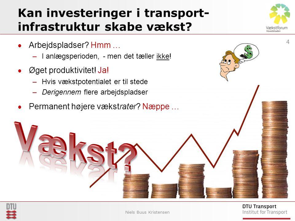 Kan investeringer i transport- infrastruktur skabe vækst.
