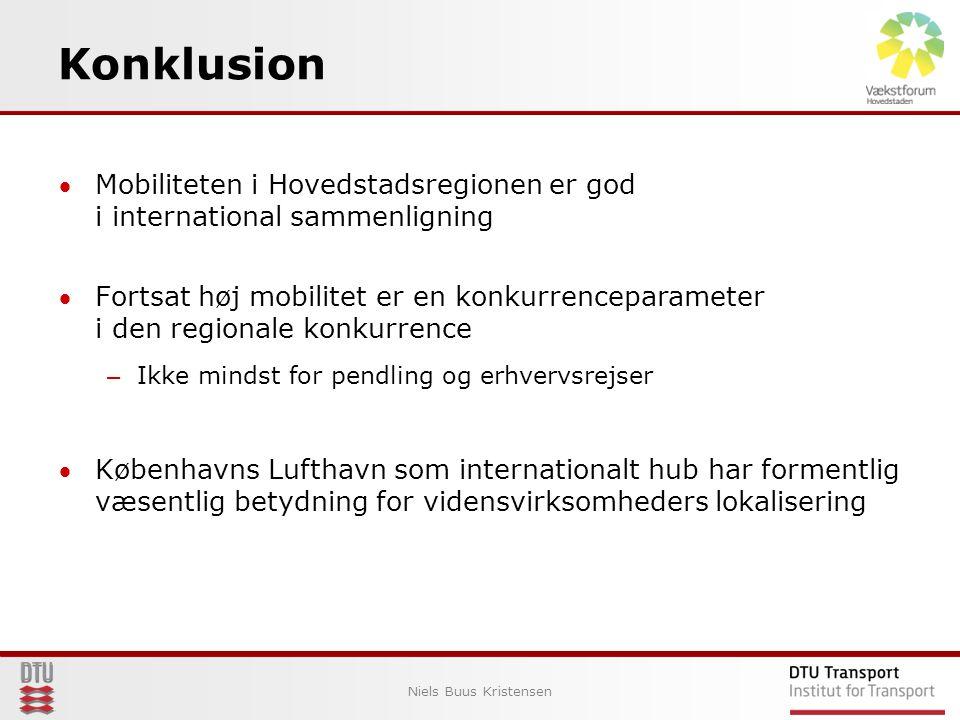 Konklusion Niels Buus Kristensen 9 Fokus på projekter der skaber de største direkte effekter pr.