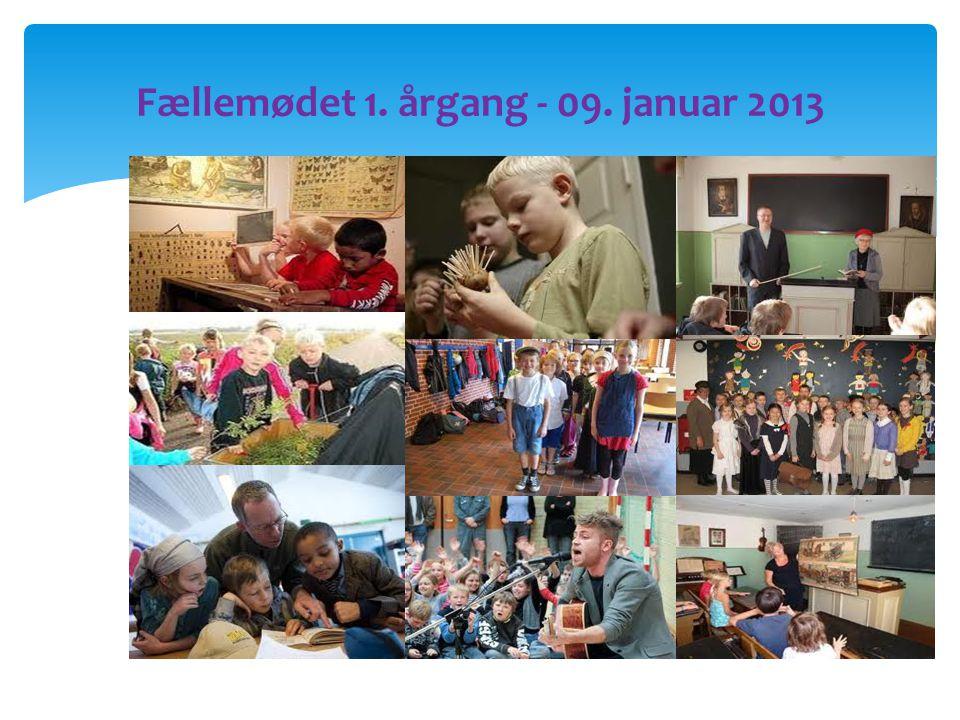 Fællemødet 1. årgang - 09. januar 2013