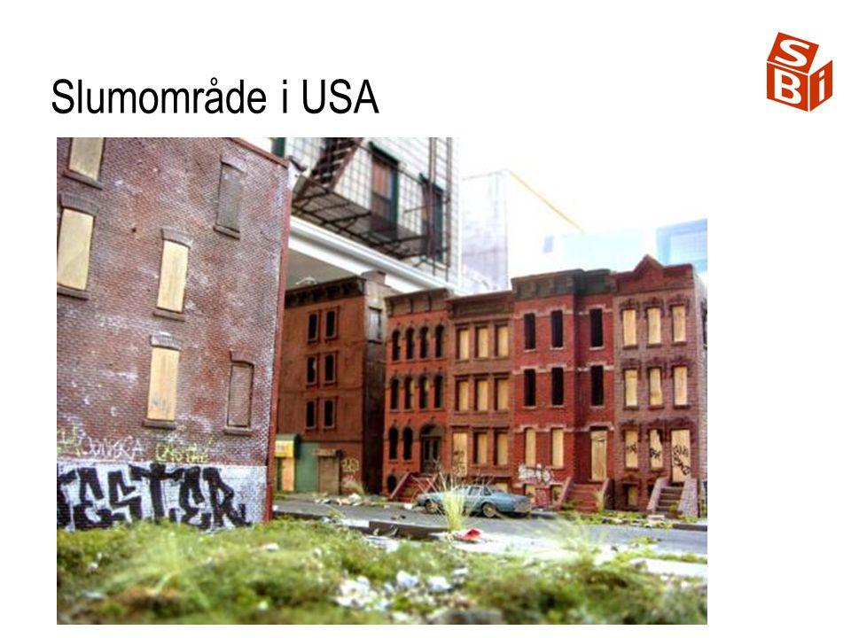 Slumområde i USA