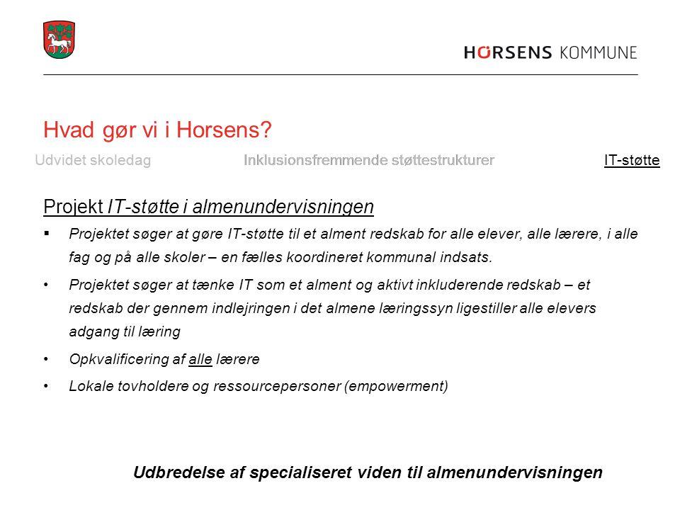 Hvad gør vi i Horsens.