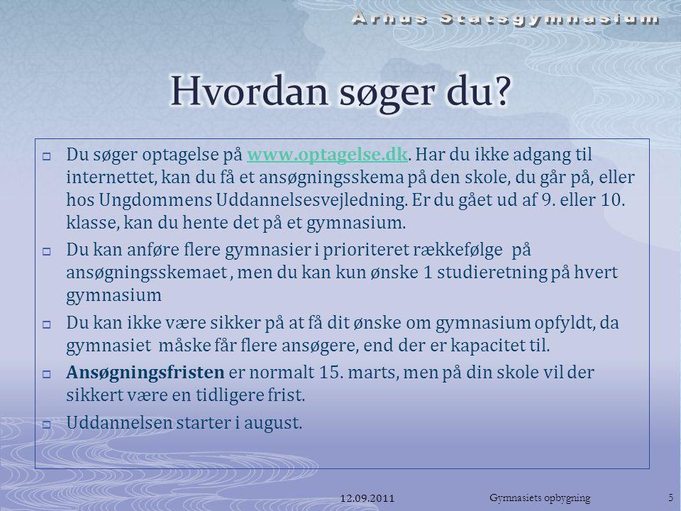  Du søger optagelse på www.optagelse.dk.