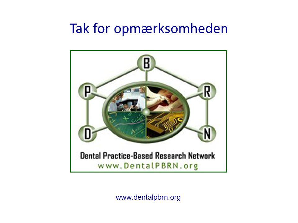 Tak for opmærksomheden www.dentalpbrn.org