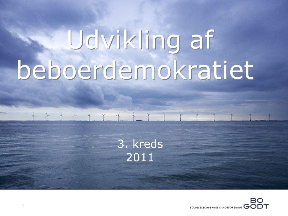 1 Udvikling af beboerdemokratiet 3. kreds 2011