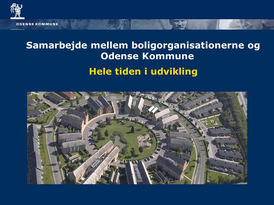 Samarbejde mellem boligorganisationerne og Odense Kommune Hele tiden i udvikling