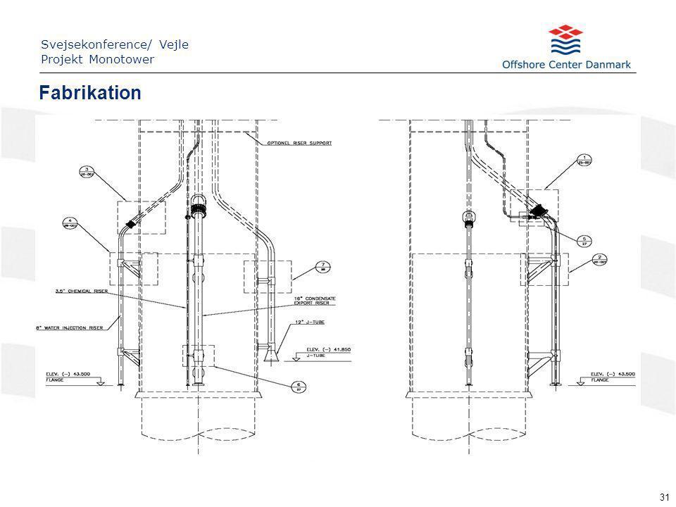 31 Fabrikation Svejsekonference/ Vejle Projekt Monotower