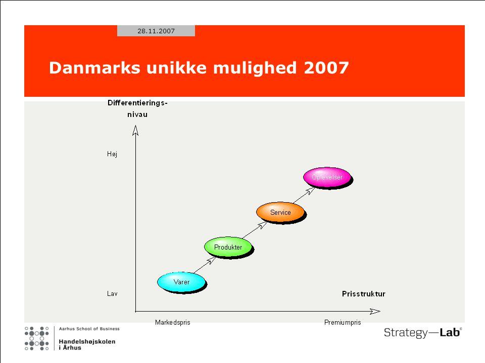 28.11.2007 Danmarks unikke mulighed 2007