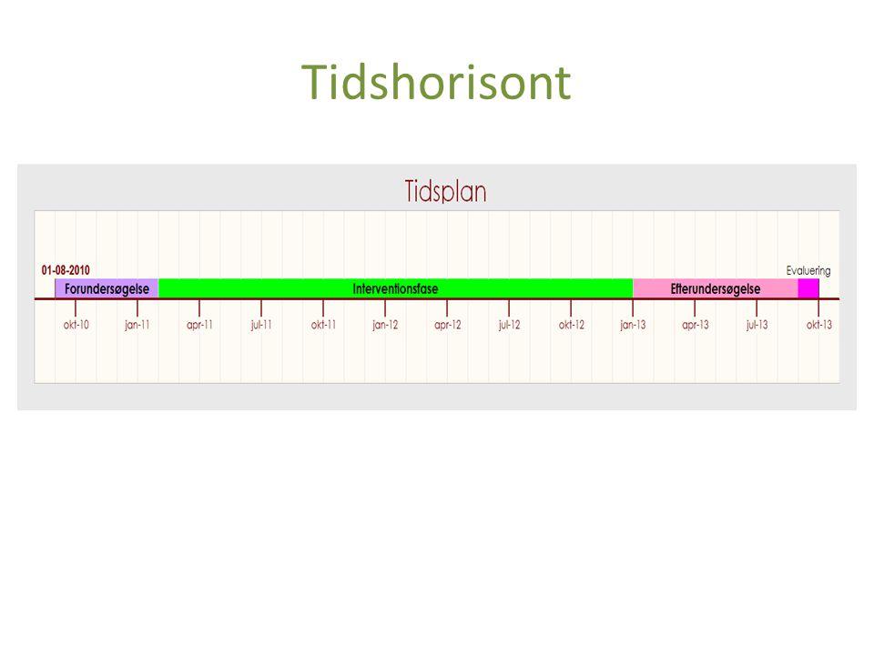 Tidshorisont