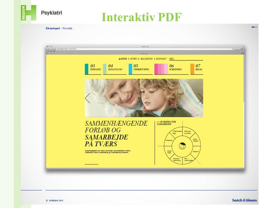 Interaktiv PDF