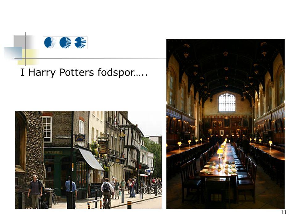 11 I Harry Potters fodspor…..