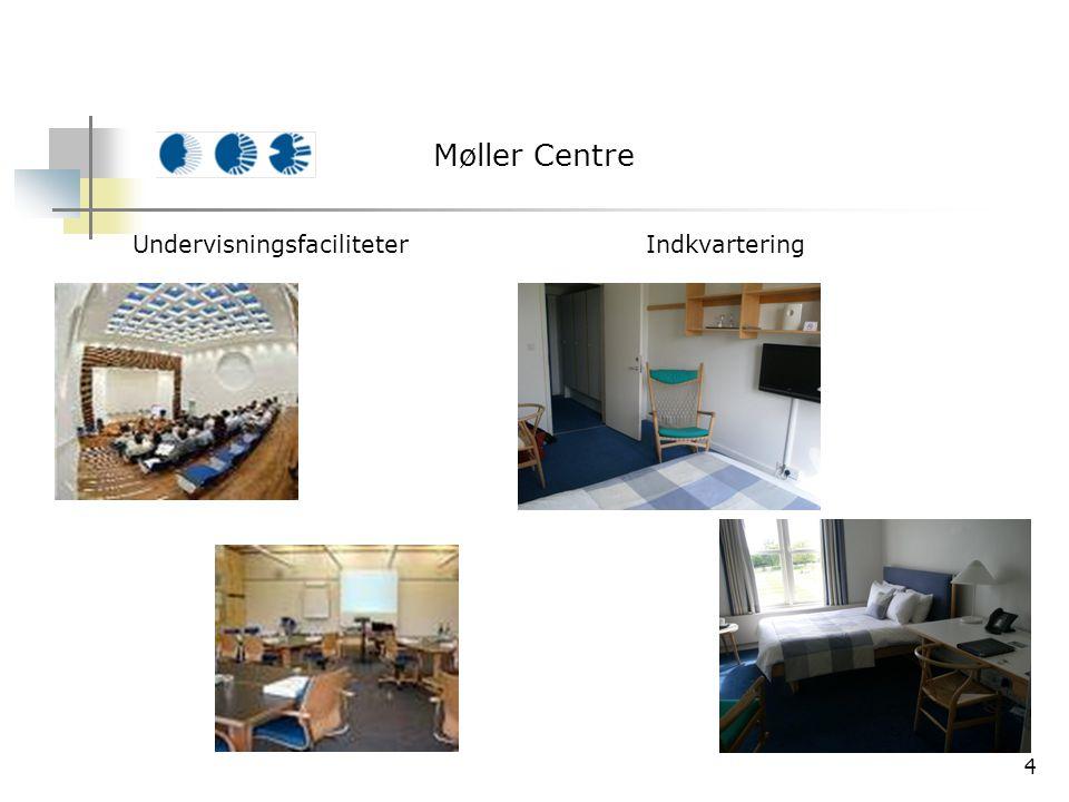 4 Møller Centre UndervisningsfaciliteterIndkvartering
