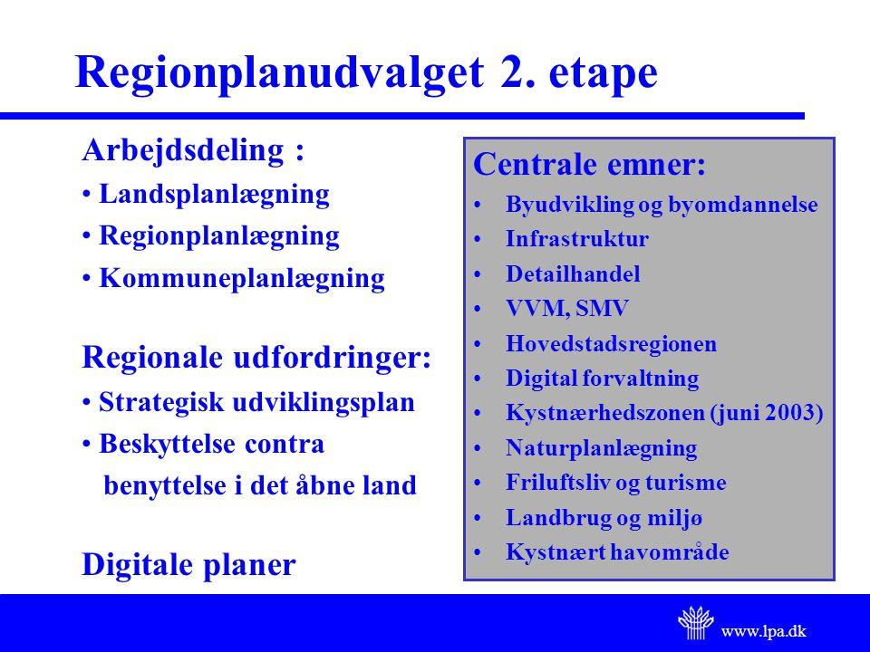 www.lpa.dk Regionplanudvalget 2.