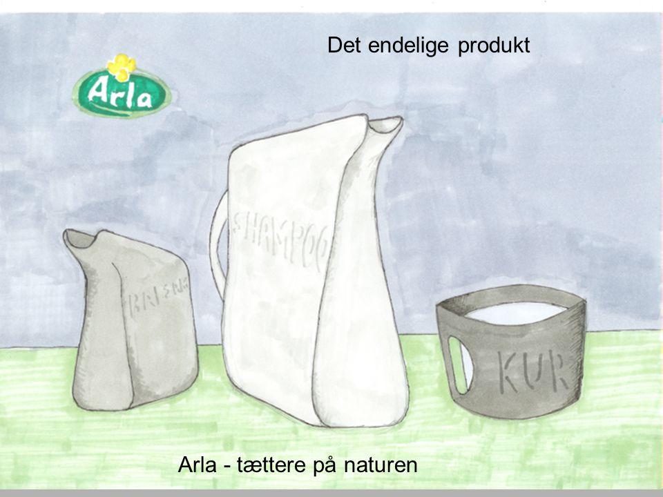 Det endelige produkt Arla - tættere på naturen
