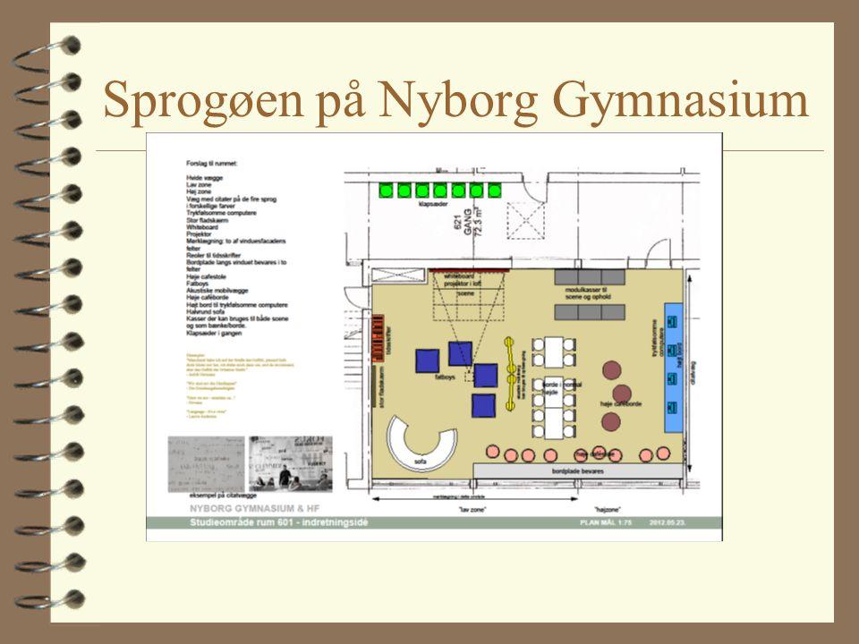 Sprogøen på Nyborg Gymnasium
