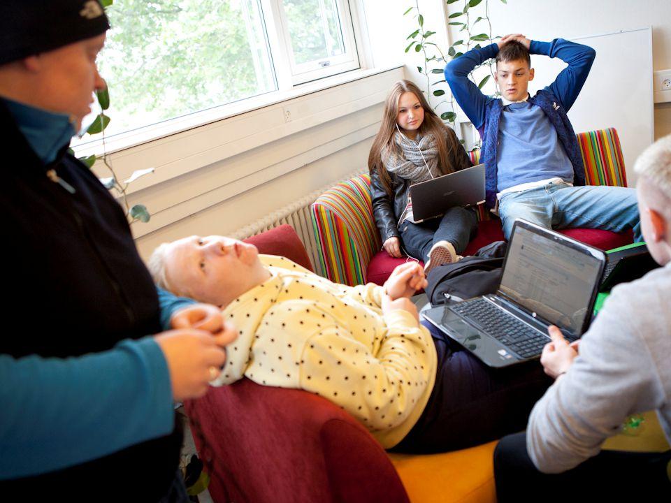 Sprogsyn og fysiske rammer Sprogøen på Nyborg Gymnasium