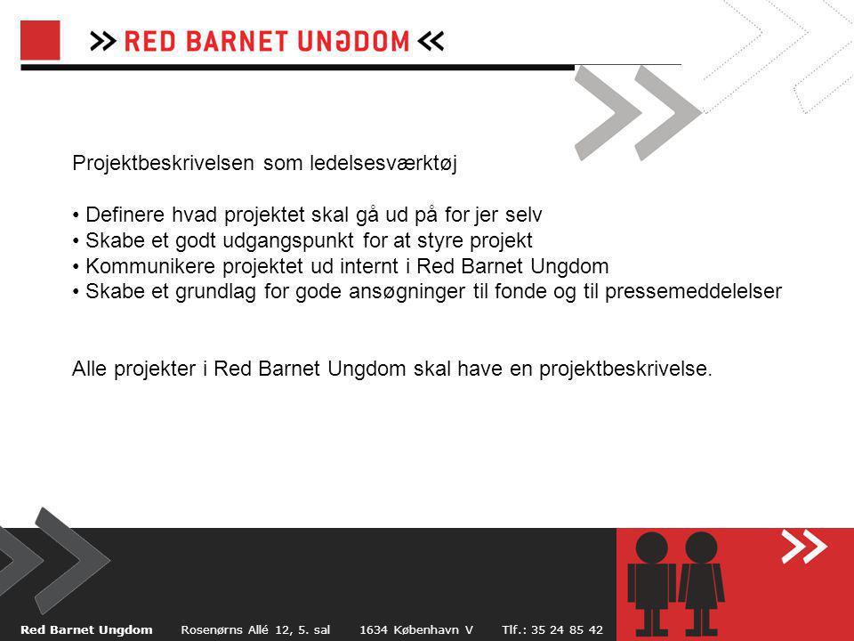 Red Barnet Ungdom Rosenørns Allé 12, 5.