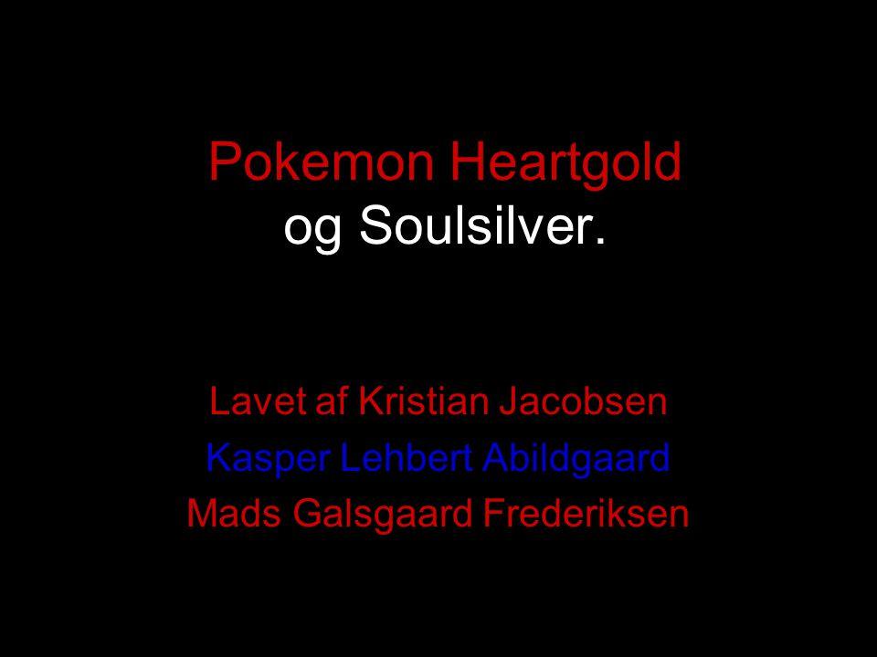 Pokemon Heartgold og Soulsilver.