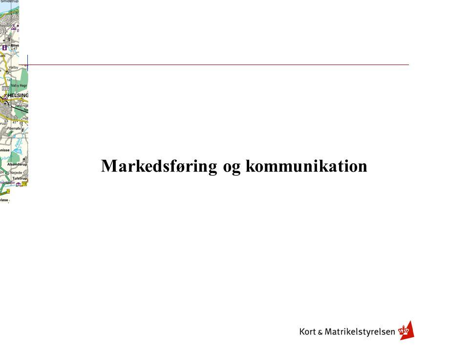 Markedsføring og kommunikation