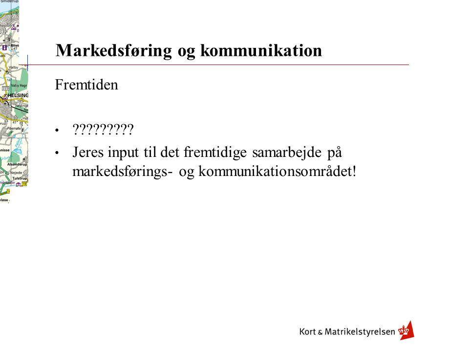 Markedsføring og kommunikation Fremtiden .