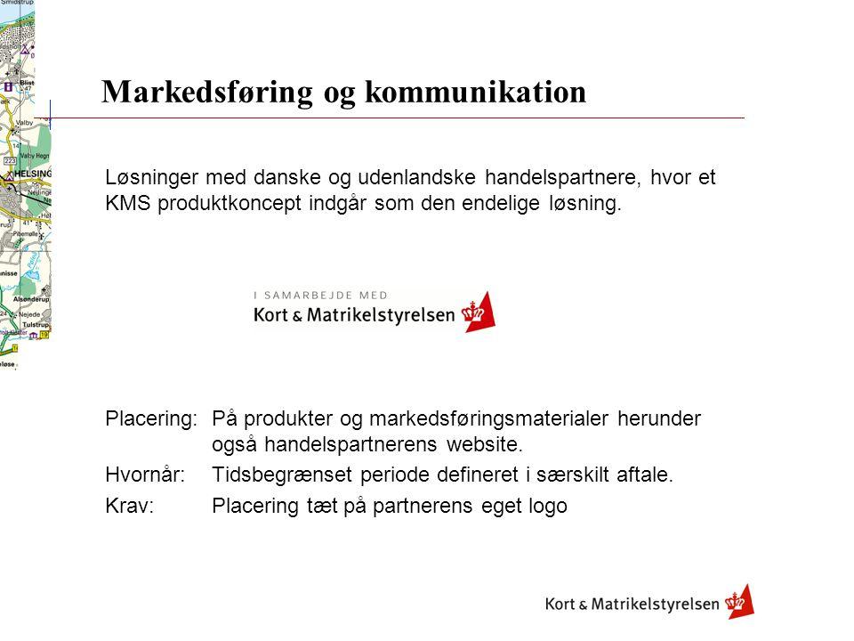Løsninger med danske og udenlandske handelspartnere, hvor et KMS produktkoncept indgår som den endelige løsning.