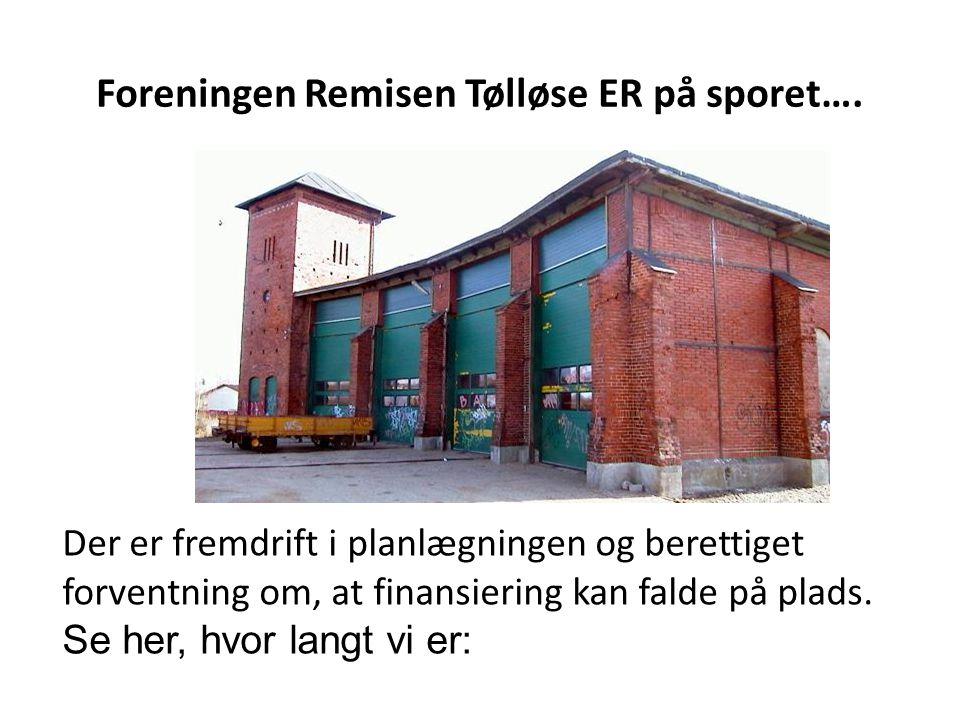 Foreningen Remisen Tølløse ER på sporet….
