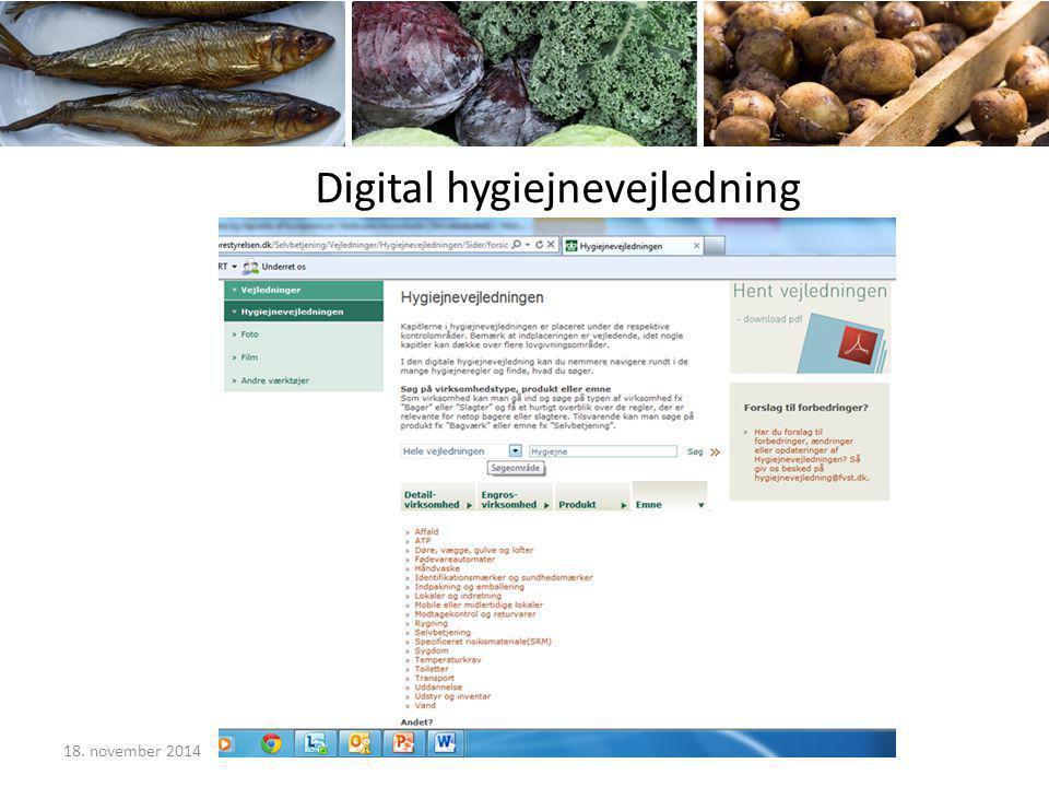 Digital hygiejnevejledning 18. november 2014