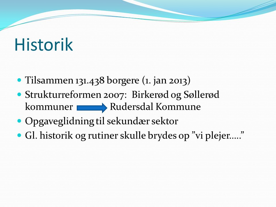 Historik Tilsammen 131.438 borgere (1.