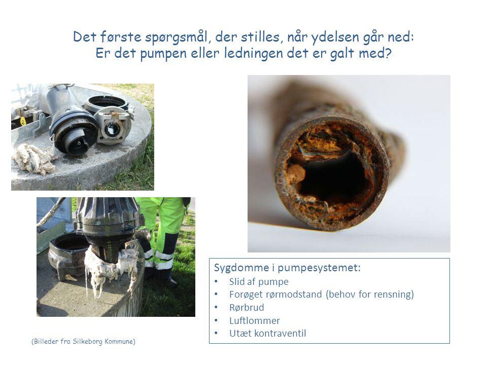 Det første spørgsmål, der stilles, når ydelsen går ned: Er det pumpen eller ledningen det er galt med.