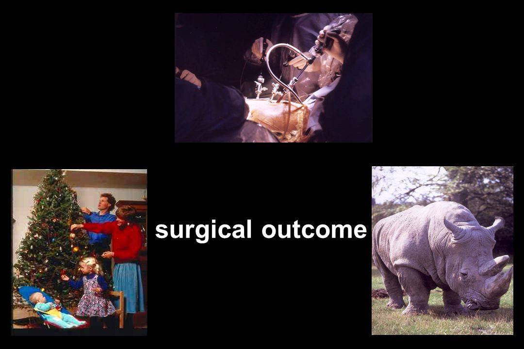 surgical outcome