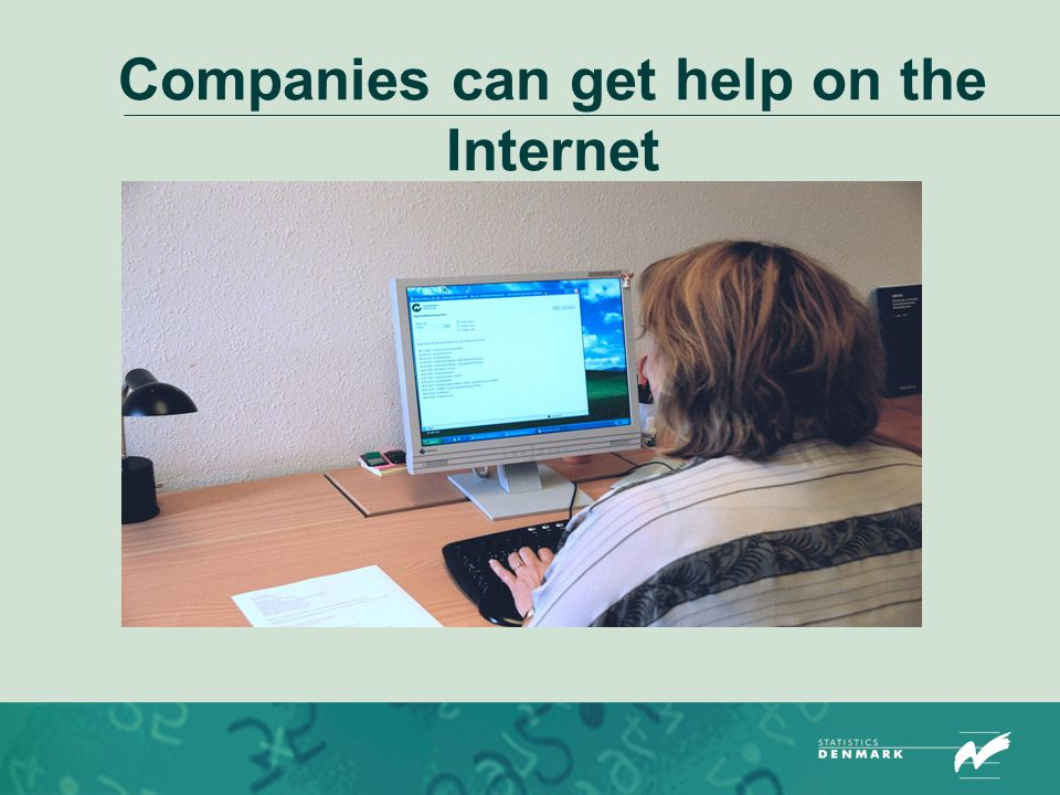 Companies can get help on the Internet