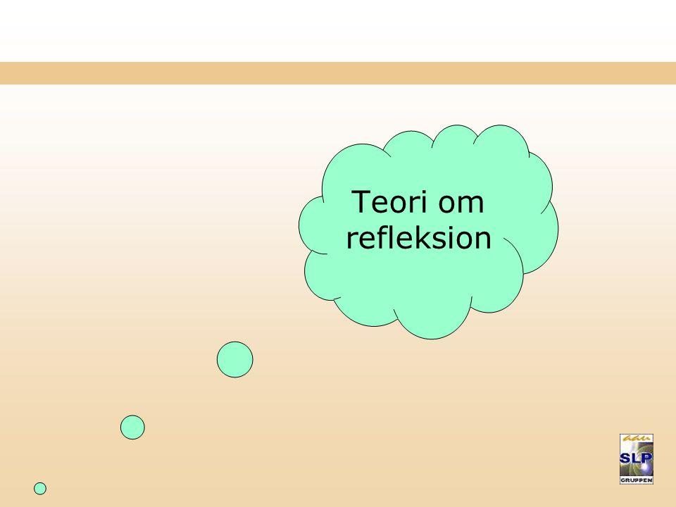 Teori om refleksion